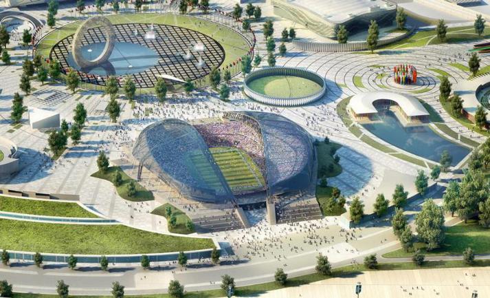 Проект стадиона в Сочи, который входит в список кандидатов на проведение ЧМ-2018 Фото «СЭ»