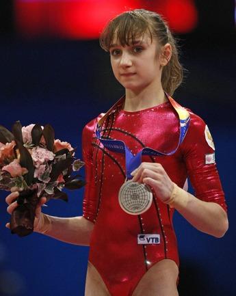 "Виктория КОМОВА. Фото AFP Фото ""СЭ"""