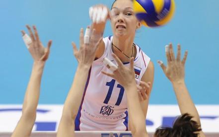 Россиянки в трех партиях переиграли Словакию Фото «СЭ»