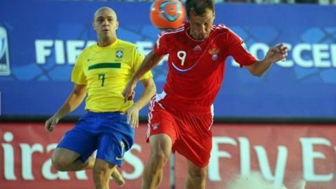 В игре Егор ШАЙКОВ (справа). Фото ФПФР Фото «СЭ»