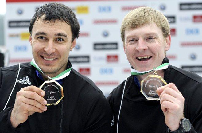 Алексей ВОЕВОДА (слева) и Александр ЗУБКОВ. Фото AFP Фото AFP