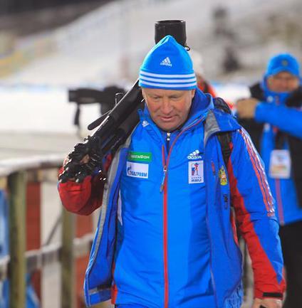 Старший тренер мужской сборной России Андрей ГЕРБУЛОВ. Фото официального сайта СБР Фото «СЭ»
