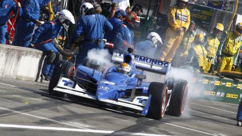 Последняя из 107 побед Newman/Haas была одержана два года назад Фото «СЭ»