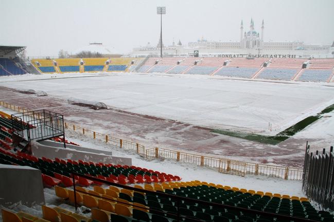 Центральный стадион Казани. Фото Александра ВОЛГИНА Фото «СЭ»