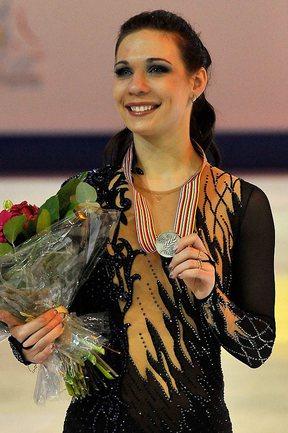 Серебряный призер чемпионата мира по фигурному катанию Алена ЛЕОНОВА. Фото AFP Фото AFP