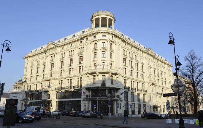 """Варшавский отель """"Бристоль"""". Фото Александра ФЕДОРОВА, """"СЭ"""" Фото «СЭ»"""