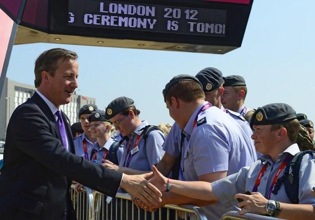 """Премьер-министр Великобритании Дэвид Кэмерон. Фото AFP Фото """"СЭ"""""""