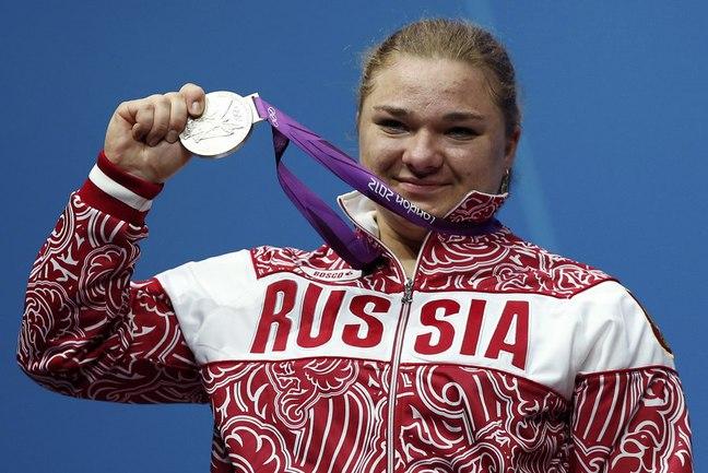 Сегодня. Лондон. Татьяна КАШИРИНА на церемонии наградждения. Фото Reuters