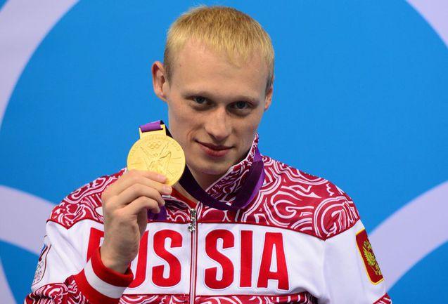 Вторник. Лондон. Илья ЗАХАРОВ - олимпийский чемпион. Фото AFP