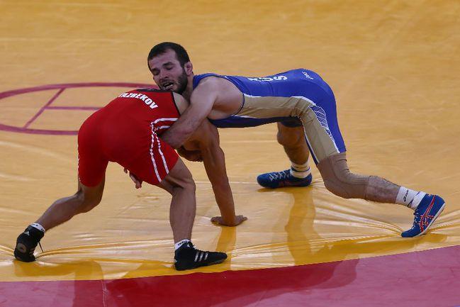 Сегодня. Лондон. Джамал ОТАРСУТАНОВ - олимпийский чемпион. Фото AFP Фото AFP