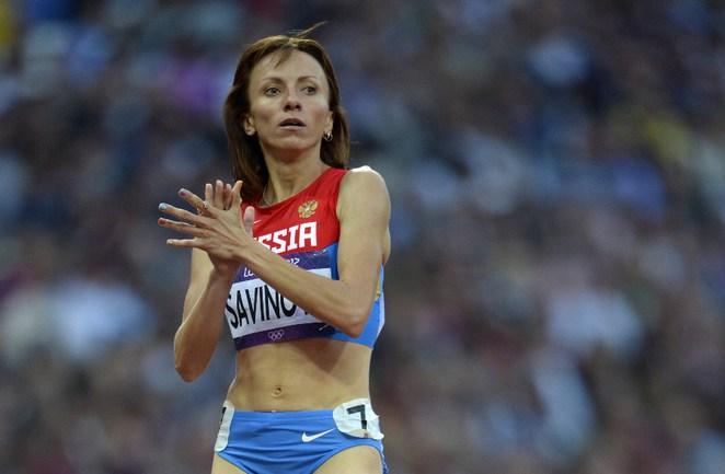 Мария САВИНОВА - олимпийская чемпионка! Фото REUTERS Фото Reuters