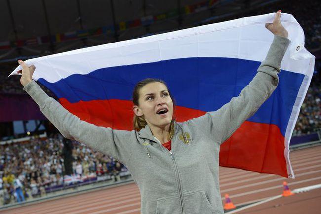 Суббота. Лондон. Олимпийская чемпионка Анна ЧИЧЕРОВА. Фото AFP Фото AFP