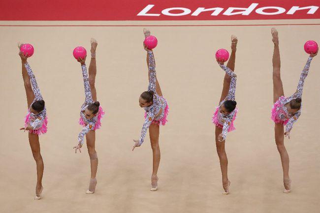 Сборная России - чемпион Олимпиады-2012. Фото AFP