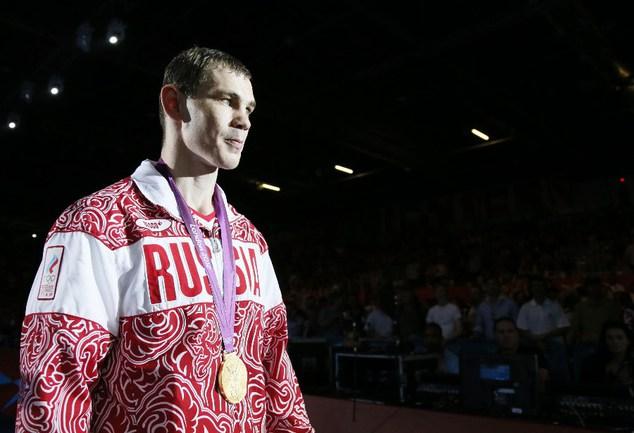Российский боксер Егор МЕХОНЦЕВ стал олимпийским чемпионом в категории до 81 кг. Фото AFP