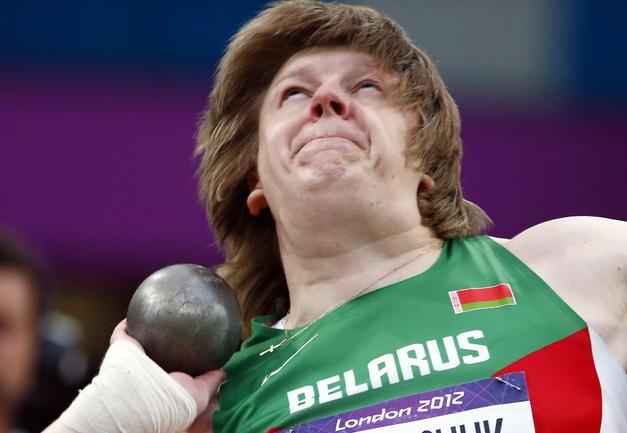 Надежда ОСТАПЧУК на Олимпиаде в Лондоне. Фото AFP Фото AFP