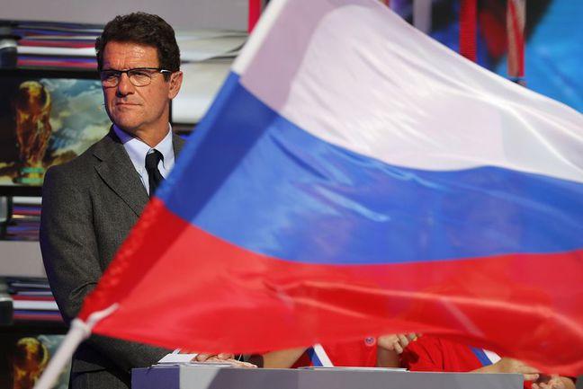 Фабио КАПЕЛЛО привел сборную России к трем победам в трех матчах на старте отборочного турнира чемпионата мира-2014. Фото AFP Фото AFP