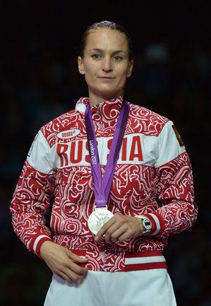 Российская саблистка Софья ВЕЛИКАЯ. Фото AFP Фото AFP