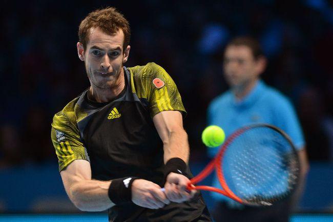 Британский теннисист Энди МАРРЕЙ. Фото AFP Фото AFP