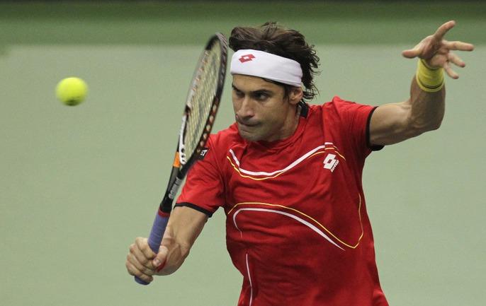 Испанский теннисист Давид ФЕРРЕР. Фото REUTERS Фото Reuters