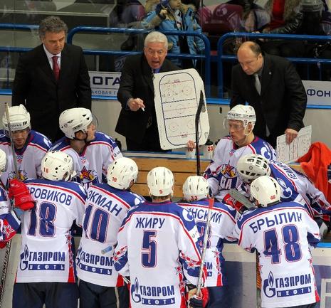 Бывший главный тренер СКА Бэрри СМИТ. Фото КХЛ Фото photo.khl.ru