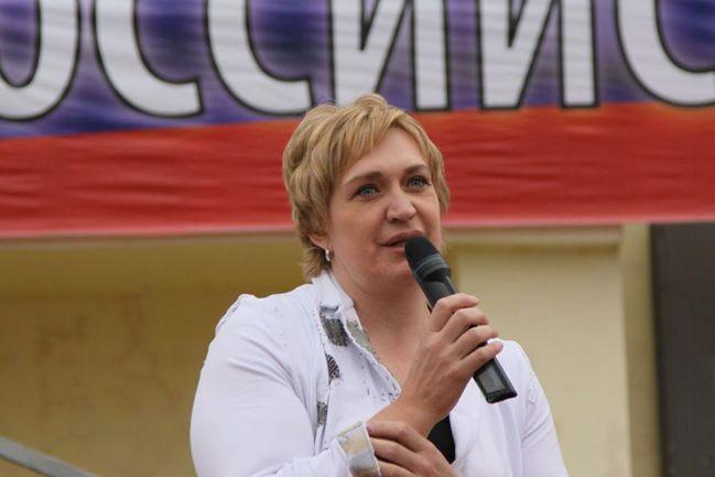 Светлана КРИВЕЛЕВА, завоевавшая на Играх в 2004 году бронзовую медаль в толкании ядра. Фото rusathletics.com Фото «СЭ»