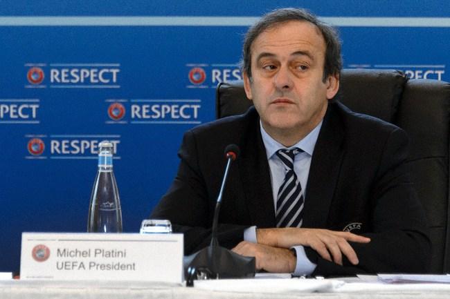 Президент УЕФА Мишель ПЛАТИНИ готов рассмотреть идею чемпионата СНГ? Фото AFP Фото AFP