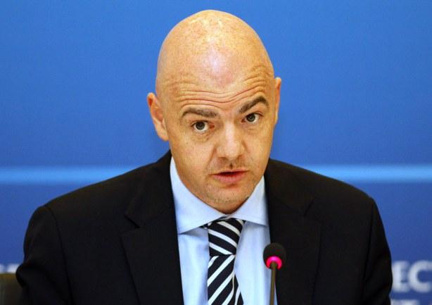 Генеральный секретарь УЕФА Джанни ИНФАНТИНО. Фото REUTERS Фото Reuters