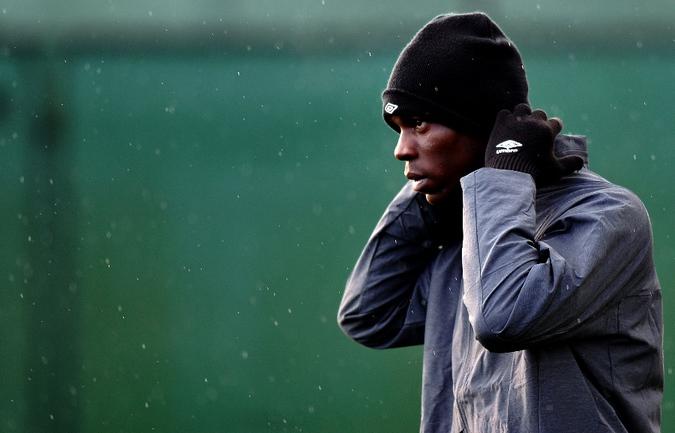 """Нападающий """"Манчестер Сити"""" Марио БАЛОТЕЛЛИ. Фото AFP Фото AFP"""