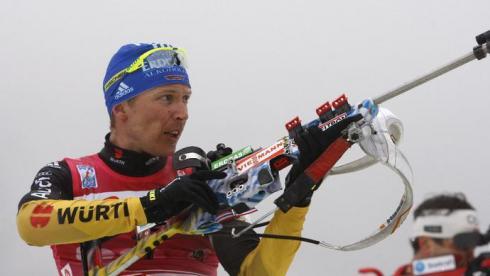 Бирнбахер выиграл спринт в Хохфильцене, Устюгов вышел на 3-е место в общем зачете