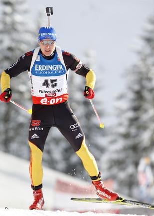 Немецкий биатлонист Андреас БИРНБАХЕР. Фото AFP Фото AFP