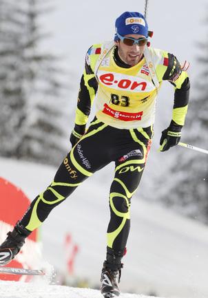 Французский биатлонист Мартен ФУРКАД. Фото AFP Фото AFP