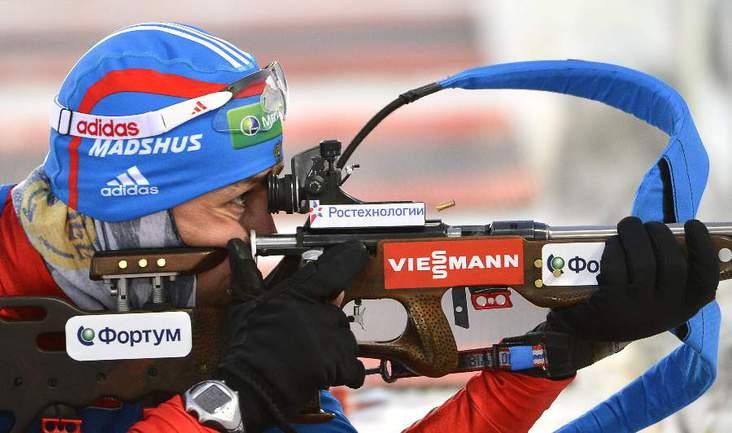 Биатлонист сборной России Андрей МАКОВЕЕВ. Фото REUTERS Фото Reuters