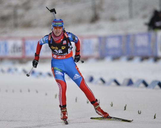 Российская биатлонистка Екатерина ГЛАЗЫРИНА. Фото REUTERS Фото Reuters