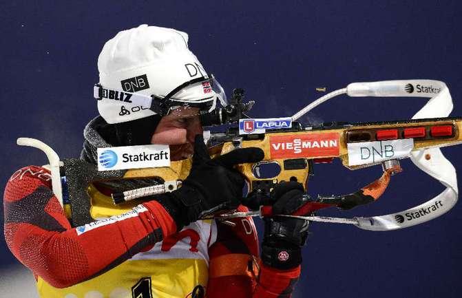 Норвежская биатлонистка Тура БЕРГЕР. Фото AFP Фото AFP