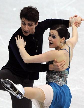 Сегодня. Сочи. Короткий танец. Тесса ВИРТУ и Скотт МОИР. Фото AFP Фото AFP