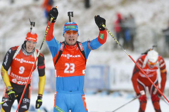 Биатлонист сборной России Антон ШИПУЛИН. Фото REUTERS Фото Reuters