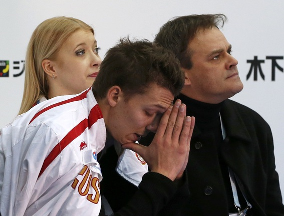 Дмитрий СОЛОВЬЕВ и Екатерина БОБРОВА. Фото REUTERS Фото Reuters