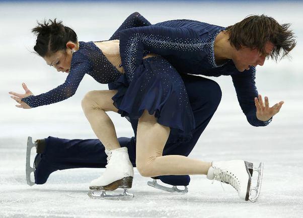 Юко КАВАГУТИ и Александр СМИРНОВ. Фото REUTERS Фото Reuters