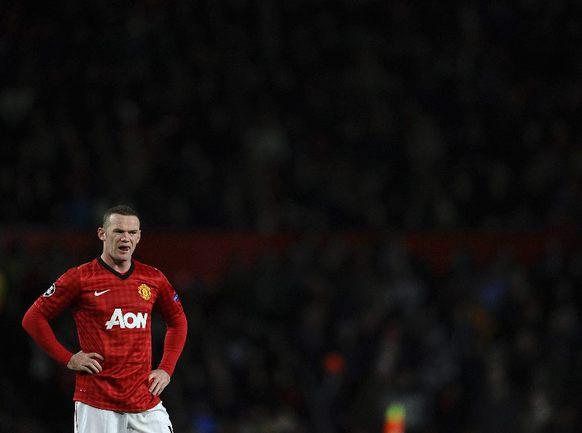 """Форвард """"Манчестер Юнайтед"""" Уэйн РУНИ. Фото REUTERS Фото Reuters"""