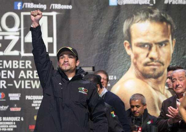 Мексиканский боксер Хуан Мануэль МАРКЕС. Фото REUTERS Фото Reuters