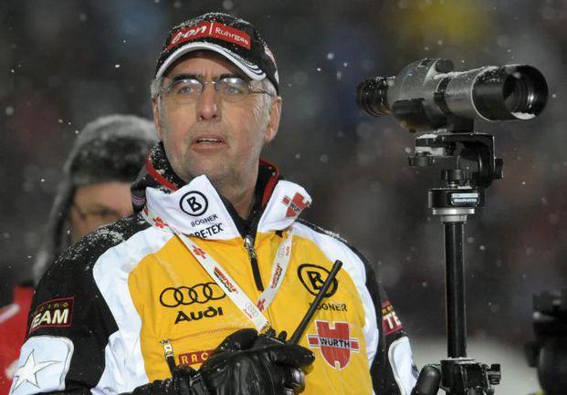 Главный тренер сборной Германии Уве МЮССИГАНГ. Фото AFP Фото AFP