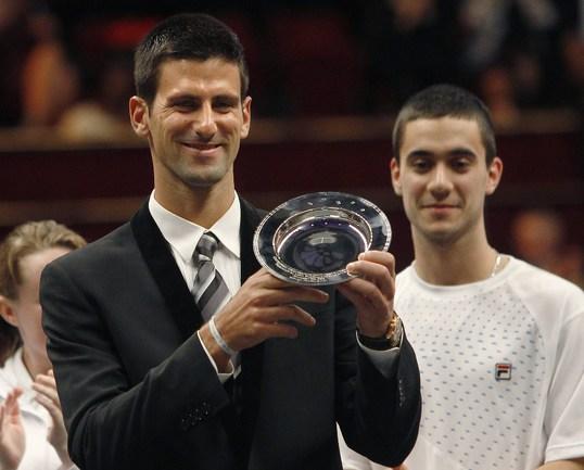 Лучший теннисист года Новак ДЖОКОВИЧ. Фото AFP Фото AFP