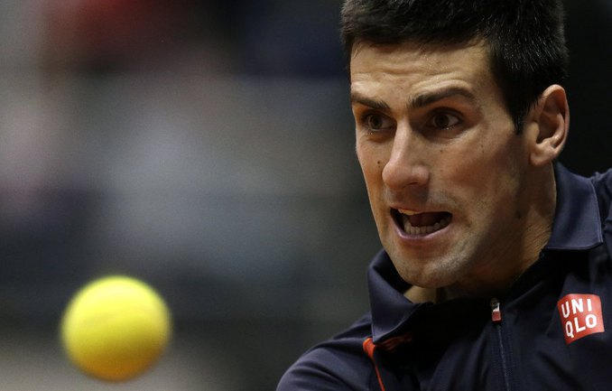 Новак ДЖОКОВИЧ, названный ITF лучшим теннисистом года. Фото REUTERS Фото Reuters