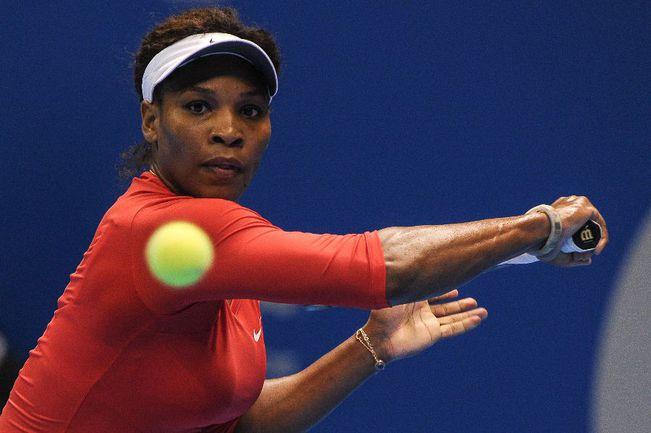 Серена УИЛЬЯМС, названная ITF лучшей теннисисткой года. Фото AFP Фото AFP