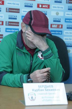 Курбан БЕРДЫЕВ. Фото Андрея КОНДРАТЬЕВА Фото «СЭ»