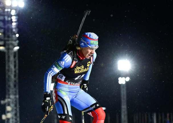 Российская биатлонистка Ольга ЗАЙЦЕВА. Фото REUTERS Фото Reuters