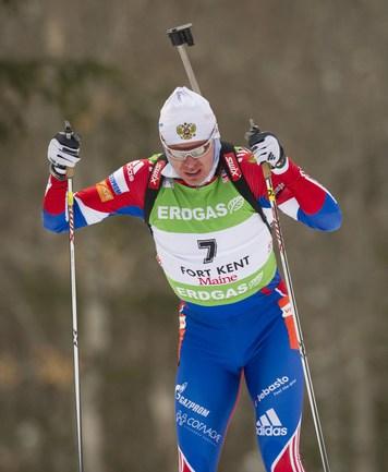 Российский биатлонист Иван ЧЕРЕЗОВ. Фото AFP Фото AFP