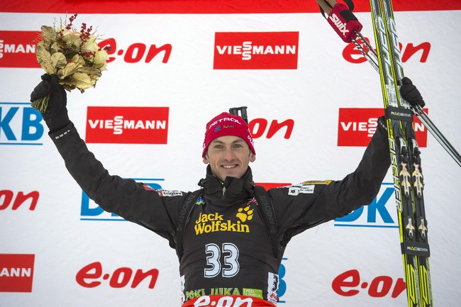 Словенский биатлонист Яков ФАК. Фото AFP Фото AFP