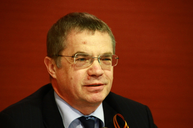 "Президент КХЛ Александр МЕДВЕДЕВ. Фото Юрия ГОЛЫШАКА, ""СЭ"" Фото «СЭ»"