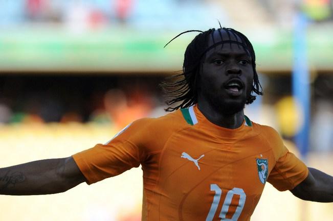 Сегодня. Рюстенбург. Кот-д'Ивуар - Тунис - 3:0. Автор первого гола в ворота Туниса ЖЕРВИНЬЮ. Фото AFP Фото AFP